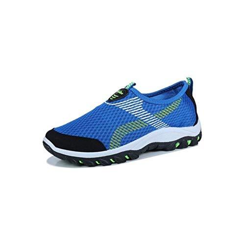 EU39 De Sauvage Size Une FH CN40 Course UK6 Chaussures 5 Chaussures Décontractées Respirant Adolescents Paresseux Chaussures Couleur Pédale Randonnée Sportif Blue qx1x7Tzw