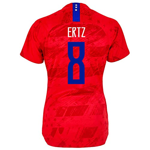 ERTZ #8 USA Away Women's Soccer Jersey 2019/20 Red (L) ()