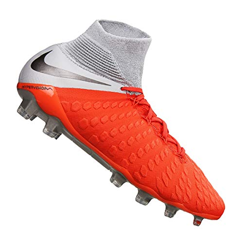 Lt Crimson 001 Unisex Grey Elite Mtlc Zapatillas Adulto Grey 3 DF NIKE Wolf Multicolor Hypervenom Dark FG xfCnwUHzq
