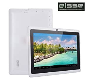 "Elsse 7"" 5-Point Capacitive Screen Tablet Pc Android 4.0 - A13 512Mb 4Gb With Camera"