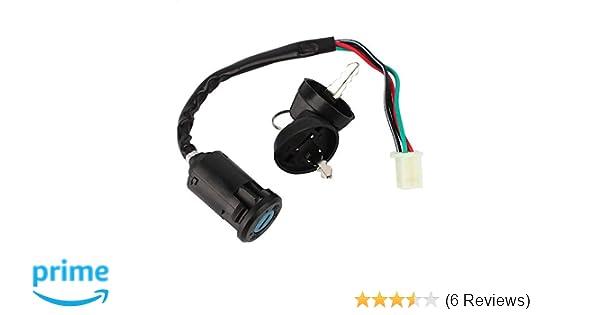 1PZ KS0-102 Key Ignition Switch Lock for 110cc 125 cc ATVs Quad 4 Wheeler Taotao SunL Coolster