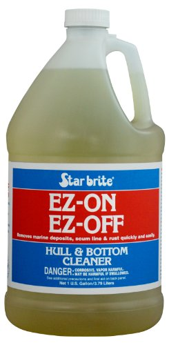Star brite EZ-ON EZ-OFF Hull & Bottom Cleaner 1 Gallon (Best Paint To Use On Aluminum Boat)