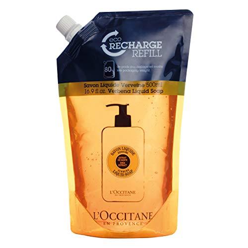 (L'Occitane Shea Butter Verbena Liquid Soap Refill, 16.9 fl. oz.)