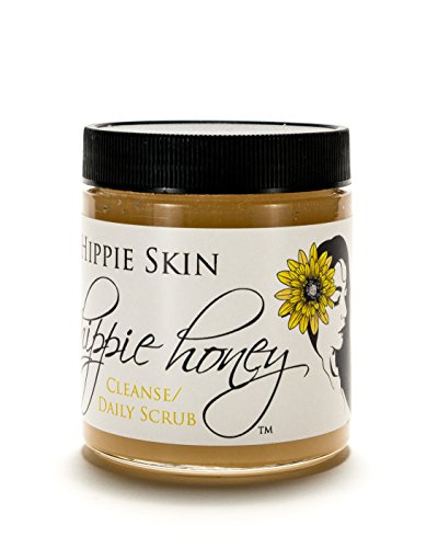 Hippie Honey Raw Scrub Exfoliant Facial Cleanser by Hippie Skin
