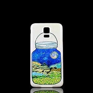 WQQ Teléfono Móvil Samsung - Cobertor Posterior - Gráfico/Diseño Especial - para Samsung S5 i9600 Plástico )