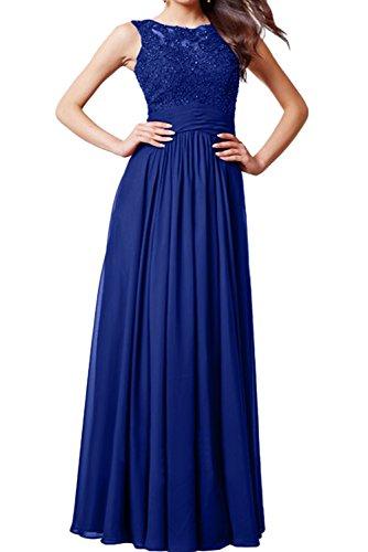real trapecio Vestido azul Topkleider 34 para mujer wzFqqvXPnB