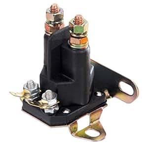 universal starter solenoid; craftsman poulan 146154, 109081x, 109946, 192507; many other brands  3 pole solenoid wiring diagram lawn mower #14