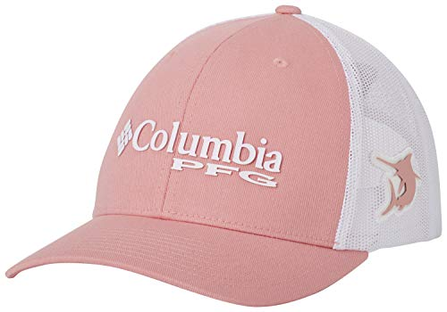 Columbia PFG Logo Snap Back Ball Cap, Breathable, Adjustable