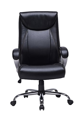 VIVA OFFICE High Back Task Chair, Bonded Leather Office Chai