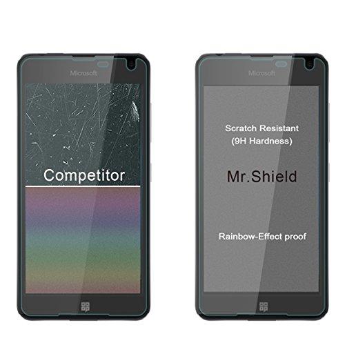 2 Pack Mr Shield For Microsoft Nokia Lumia 650