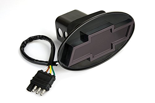 Reese Towpower 86530 Black Finish Chevrolet Bow Tie Lighted Hitch Cover