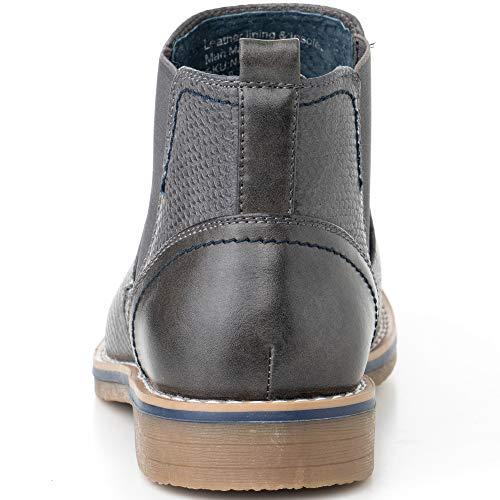Pictures of alpine swiss Men's Nash Chelsea Boots By Alpine Swiss 3