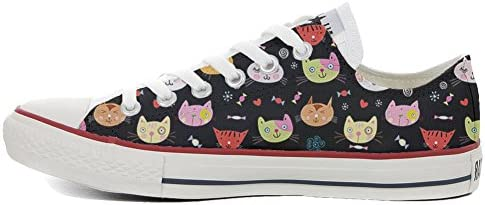 Sneakers Original USA Slim personalisiert Schuhe (Custom Produkt) My Little Kitten size 39 EU