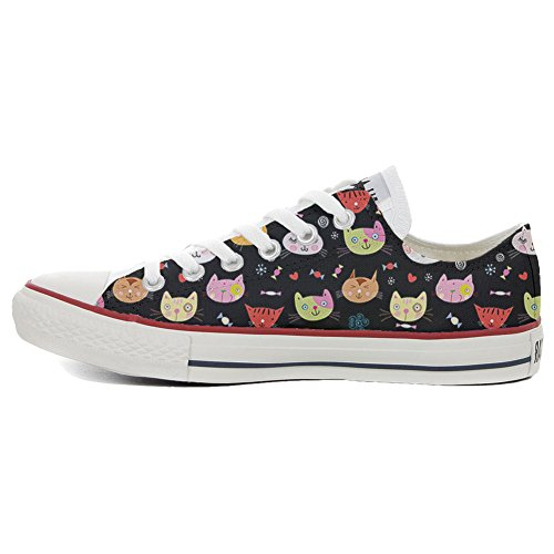 Converse All Star Slim personalisierte Schuhe (Custom Produkt) My Little Kitten