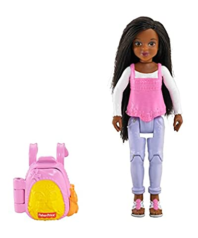 Fisher-Price Loving Family African American Sister Figure - Fisher Price Loving Family Dolls