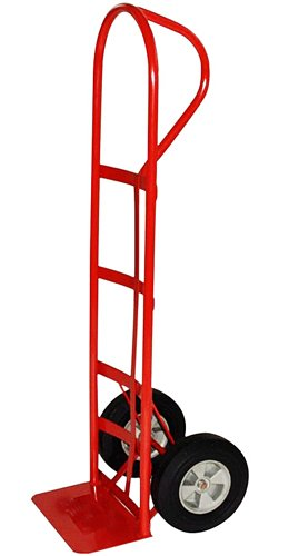 Milwaukee Hand Trucks 40810 P-Handle Truck with 10-Inch Puncture Proof Tires