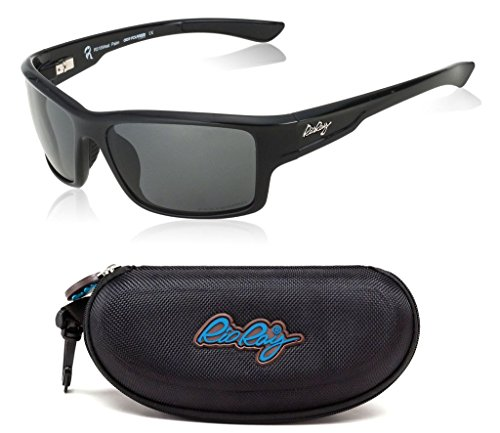 Rio Ray Polarized Sunglasses RX Prescription Ready Indestructible TR90 Frame Sport Wayfarer – West - Best For Frames Prescription Sunglasses