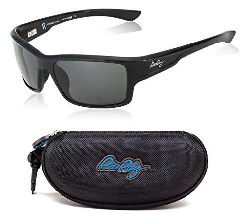 Rio Ray Polarized Sunglasses RX Prescription Ready Indestructible TR90 Frame Sport Wayfarer – West - Rx Sports Sunglasses
