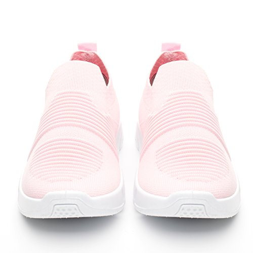 Pink919 and Walking Athletic Women Mesh Shoes on Breathable DRKA Sneakers Lightweight Slip wpP6Yq