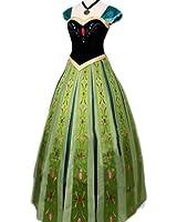 アナと雪の女王 アナ ドレス コスチューム レディース Sサイズ