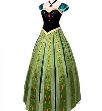 3473938512e23 アナと雪の女王 アナ ドレス コスチューム レディース Sサイズ