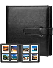 192 Pockets Photo Album for Fujifilm Instax Square SQ1 SQ6 SQ10 SQ20 Instant Camera, Fujifilm Instax SP-3 Mobile Printer, Extra Large Picture Albums for Fujifilm Instax Square Instant Film (Black)