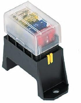 HELLA H84960071 4-Way Lateral Single Fuse Box