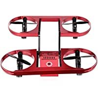 [Quadcopter] TY6 WIFI FPV Foldable Drone 720P HD Camera Altitude Hold Mode Quadcopter (Red)