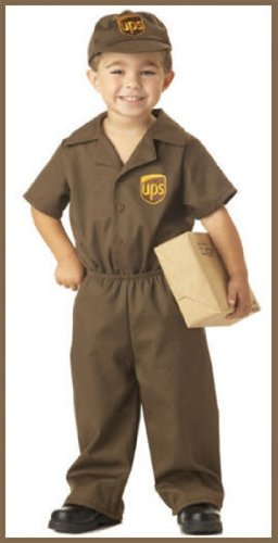 UPS Guy Costume - Toddler Large ()