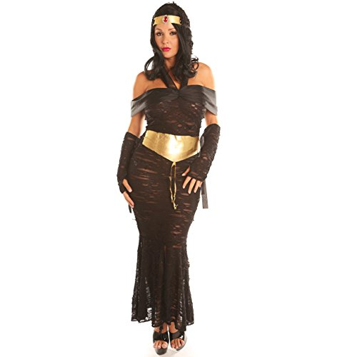 Jigsaw Saw Female Costume (Disiao Queen of the Nile Adult Egyptian Women Costume Set Halloween)