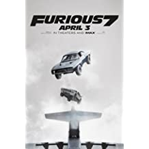 Fast And The Furious 7 Movie Limited Print Photo Poster Size 24x36 #3 Paul Walker Vin Diesel The Rock Ronda Rousey