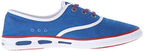 Lace Vulc Red Canvas Magic Multicolor N Ii Basses blue Femme bright Baskets Vent Multicolore Columbia HSURBWW
