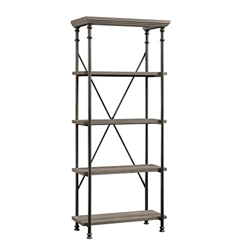 Sauder 419228 Canal Street 5-Shelf Bookcase, L: 29.53