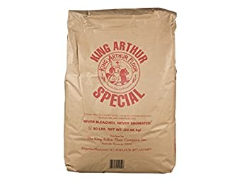 Amazon.com : King Arthur Unbleached Bread White Flour, 50