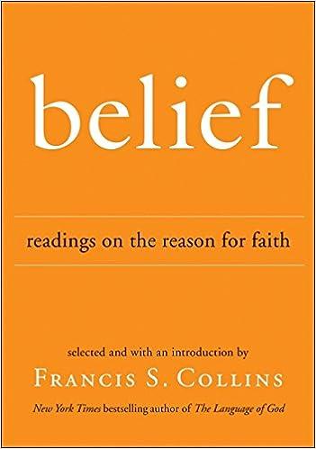 amazon belief readings on the reason for faith francis s