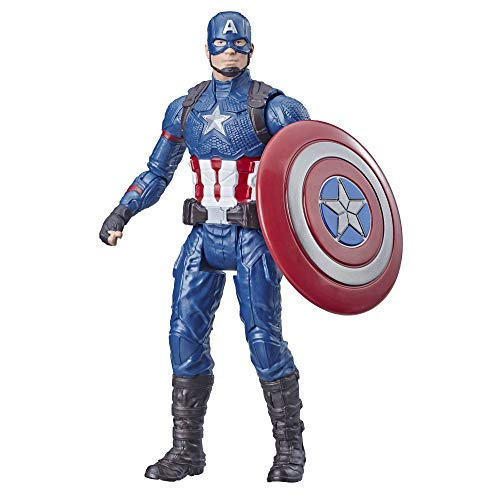 Avengers Marvel Captain America 6-Inch-Scale Marvel Super Hero Action Figure Toy