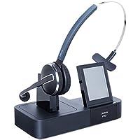 Jabra PRO 9460 Mono Wireless Headset with Touchscreen for Deskphone & Softphone