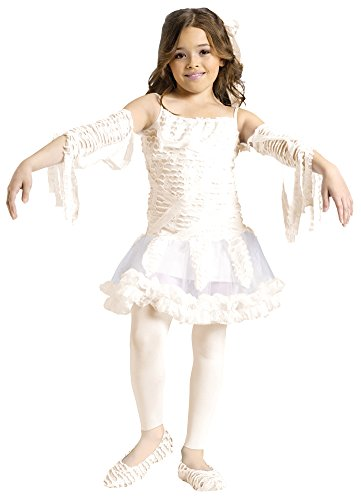 Tutu Mummy Child 4-6 Kids Girls Costume (Girls Tutu Mummy Costumes)