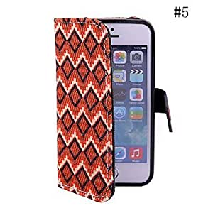 Mini - Coway Personality Diamond Pattern Mobile Phone Holster Case for iPhone5/5s , Color: 5#