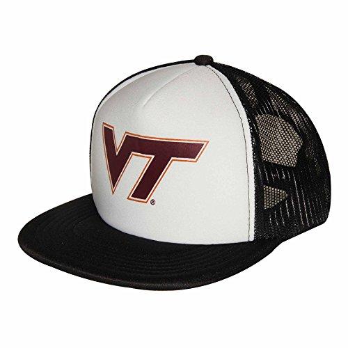 NCAA Virginia Tech Hokies Adult Unisex Foam Front Mesh Back Trucker Cap  Adjustable Size
