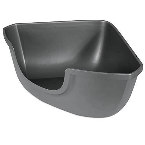 Petmate 42104 Corner Open Litter Pan