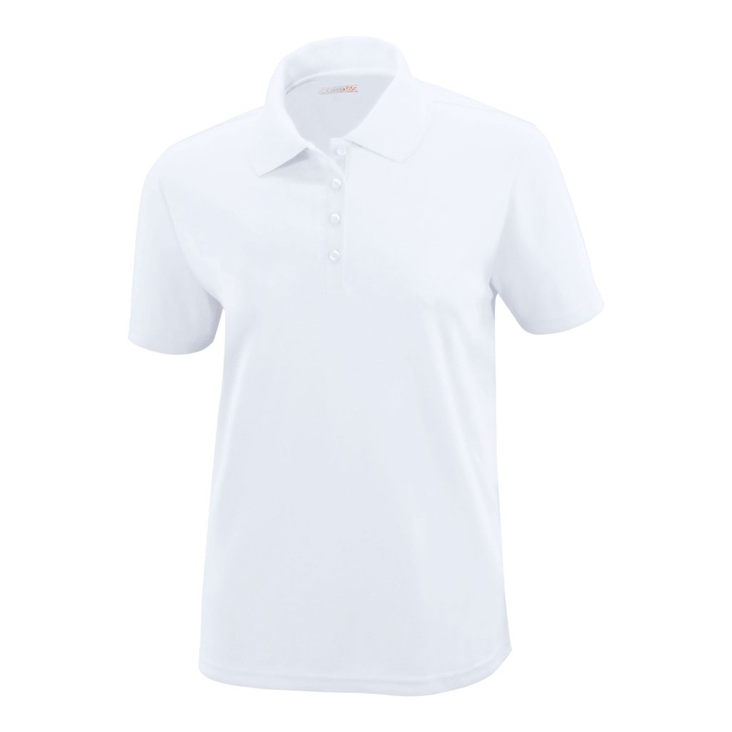 Ash City Ladies Origin Core 365 Performance Polo (XX-Large, White) by Ash City Apparel