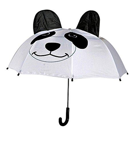 Wild Umbrella Panda Animal Black