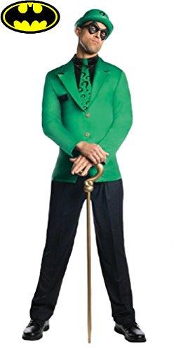 (The Riddler Adult Costume - Anti Hero - Villain - Male Size:)