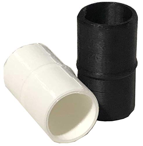 CP3 2x 3D Printed Cleaning Accessory and Tube Extension for CPAP tubing fits old and new style hoses by CP3, Inc.