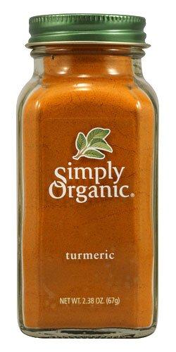 Simply Organic Turmeric -- 2.38 oz - 2 pc