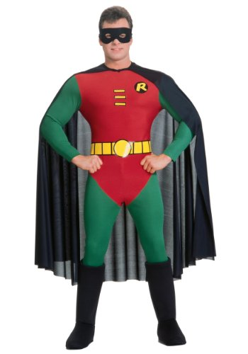 Rubie's Classic Batman Deluxe Robin, Red/Green, Large Costume for $<!--$33.74-->
