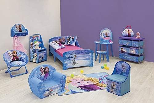 Purple//White Fun House Disney Frozen 713198 Girls Folding Moon Seat