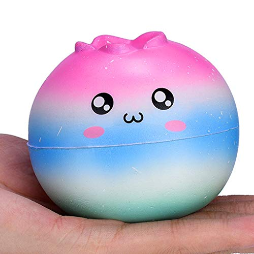 Stress Reliever Toys, 1 PC Adorable Squishies Galaxy Cartoon Slow Rising Fruit Scented Stress Relief Toy 2019 New (AS Show, B) ()