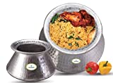 NEW ALUMINUM RICE BIRYANI POT 16 KG CAPACITY DEGDA COOKWARE CHEF UTENSIL